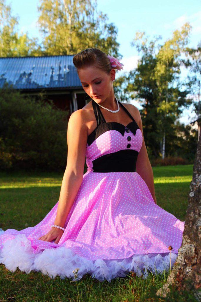 Glinder klänning