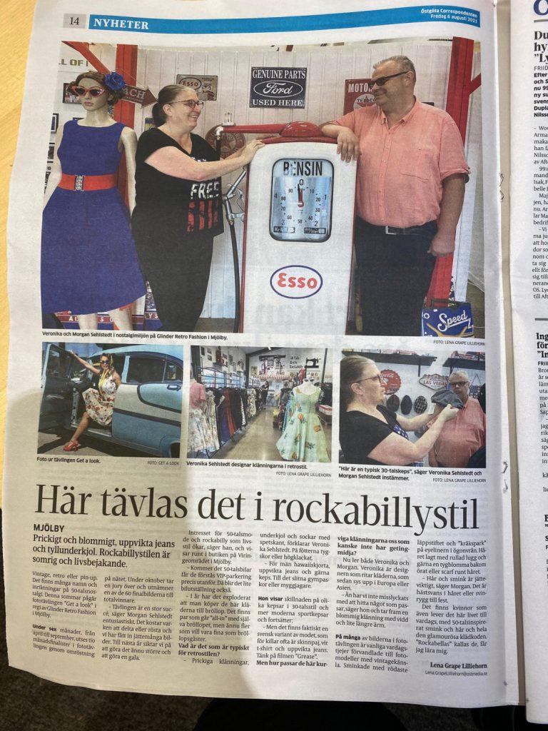 Östgöta correspondenten skriver om GET A LOOK